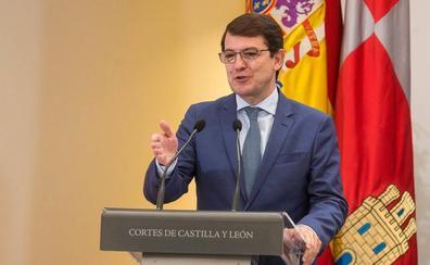 Mañueco irá el 9 de julio a la investidura como presidente de la Junta con la mayoría absoluta de PP y Cs