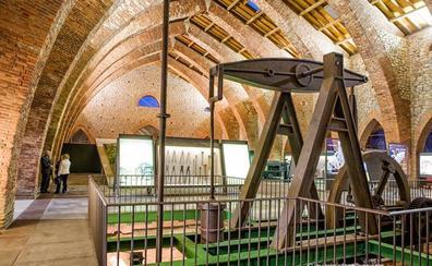 `Tierras mineras sobre el lienzo´ en el museo de de la Siderurgia y la Minería de Sabero