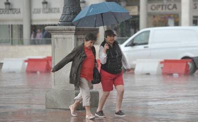 La Aemet activa la alerta amarilla por tormentas en varias provincias de Castilla y León