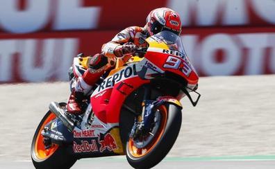 Márquez arranca sin dudas en Sachsenring
