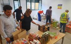 El 'Programa de Ayuda Alimentaria' reparte alimentos a más de 150 personas en Villaquilambre