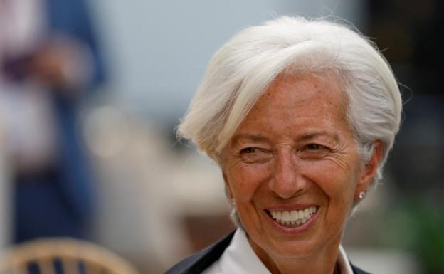 Christine Lagarde,elegida para presidir el Banco Central Europeo. /Reuters