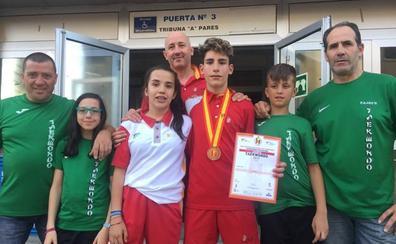 El Taekwondo Valderas vuelve con un bronce del campeonato nacional