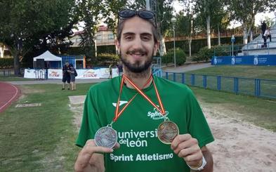 Dani Pérez se cuelga un oro y una plata en el Campeonato de España