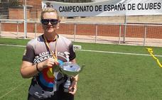 El CTA Ponferrada se lleva una medalla de plata en el Campeonato de España