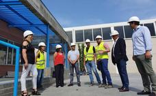 La ampliación del colegio de 'Los Adiles' estará lista para el comienzo del curso