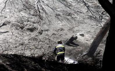 El incendio de Ceuta calcina más de 40 hectáreas de alto valor ecológico