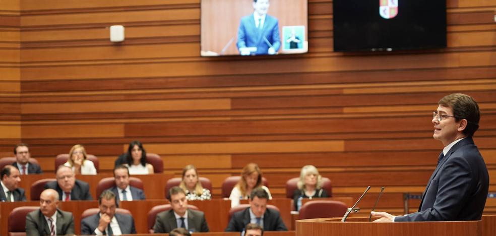 Mañueco ofrece diálogo sincero y abierto con todos en un Gobierno de acción