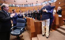 Mañueco, elegido como séptimo presidente de la Junta con los votos de PP y Cs