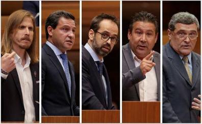 Las intervenciones de los portavoces en las Cortes