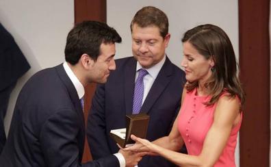 Medina de Rioseco recibe el premio de accesibilidad universal 2018 entregado por la reina Letizia