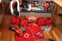 Presentación de los Equipos de Respuesta Básica en Emergencias de la Cruz Roja