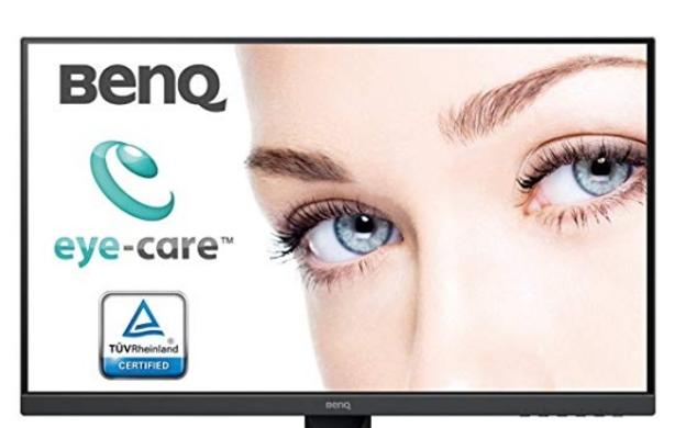 BenQ GW2780 - Monitor de 27« (FHD, Eye-Care, IPS, HDMI, Sensor Brillo Inteligente, Low Blue Light, Antirreflejo) Color Negro