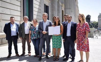 Ciudadanos registra en el Congreso una solicitud para la creación de una comisión que luche contra la despoblacion