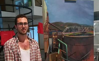 El emblemático lavadero minero de Fabero se hace con el III Certamen Nacional de Pintura Rápida Tierras Mineras de Castilla y León