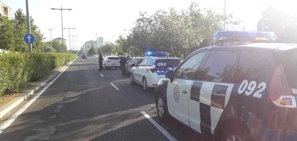 Un conductor se sale de la vía en Valladolid y da positivo en cannabis, opiáceos y anfetaminas