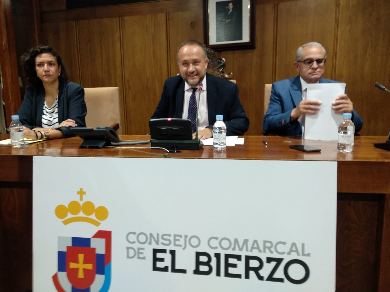 Courel, reelegido presidente del Consejo Comarcal del Bierzo