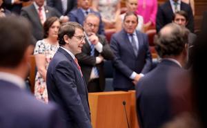 En directo | Fernández Mañueco toma posesión como séptimo presidente de la Junta de Castilla y León