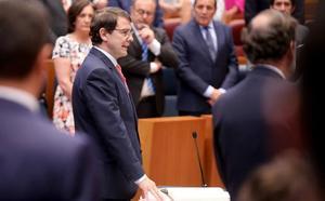 Mañueco, nuevo presidente de Castilla y León: «El compromiso con esta tierra está por encima de cualquier otra cosa»