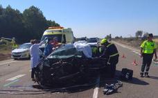 Un muerto y un herido grave en un accidente en las proximidades de Villoldo