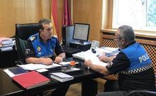 Relevo en la Policía Local: el inspector Ángel Ordás asume los mandos