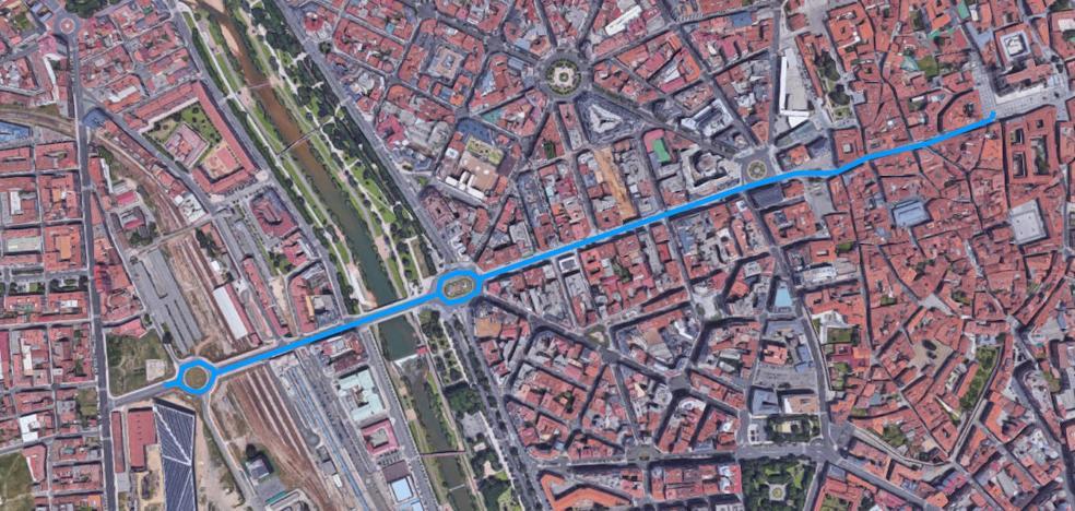 Diez estudia crear una 'gran vía' moderna que una la Catedral y el Palacio de Exposiciones en su proyecto del León sostenible