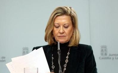 Del Olmo asevera que «ni harta de vino» tiene intención de ser senadora