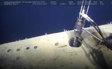 Radiación soviética en el fondo del mar