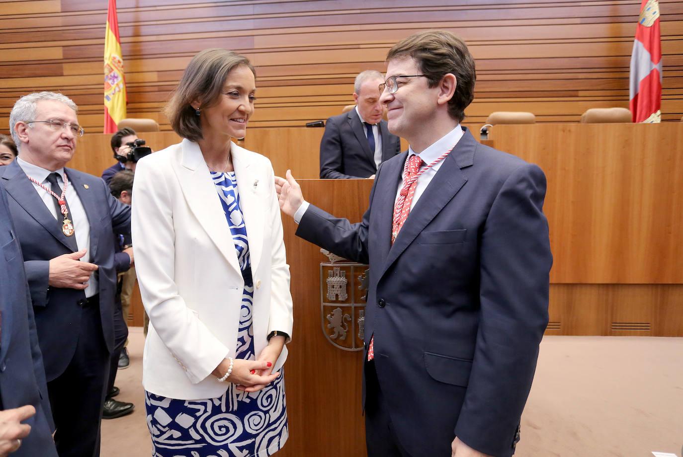 Alfonso Fernández Mañueco, nuevo presidente de Castilla y León