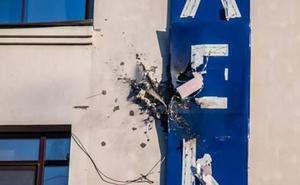 Atacan con un lanzagranadas la sede de la televisión ucraniana 112