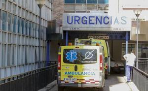 Heridos dos jóvenes tras una salida de vía de madrugada en la SA-220 en Tenebrón