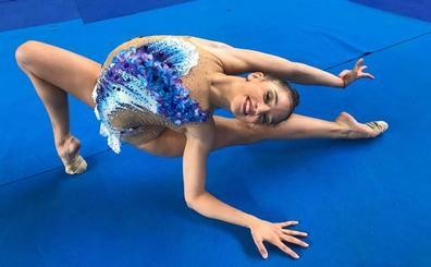 Sara Llana, sexta en aro y mazas en la final de la Universiada