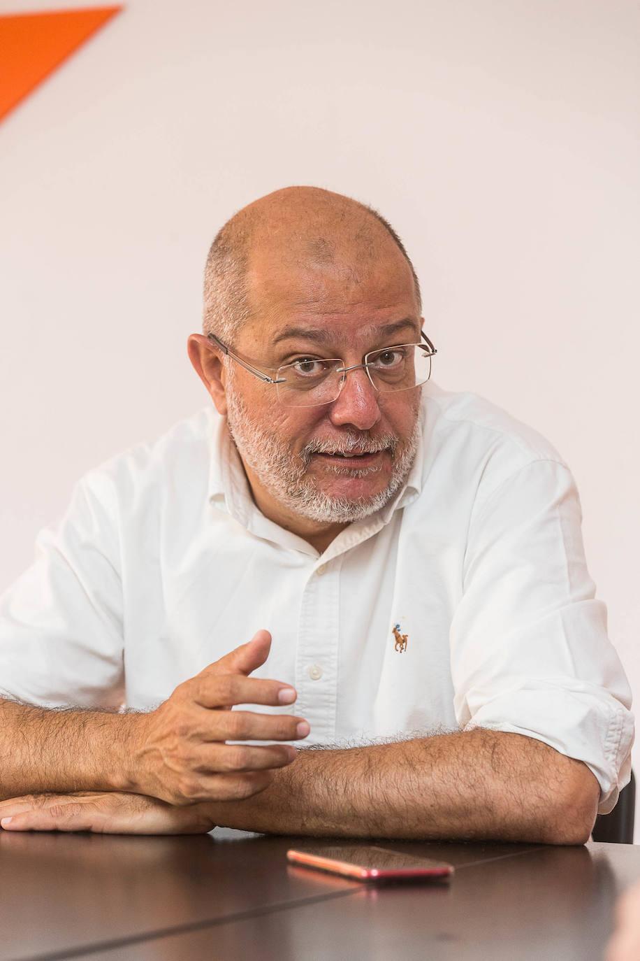 El candidato a la presidencia de la Junta de Castilla y León por Ciudadanos, Francisco Igea