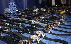 Detenido en Valladolid por el robo de joyas y relojes en un comercio por valor de 20.000 euros