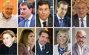 Siete hombres y tres mujeres configuran el nuevo gobierno de la Junta