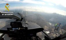 El Greim rescata a dos montañeros desorientados en Peña Ubiña por la niebla