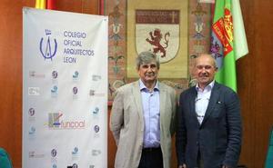 El Colegio Oficial de Arquitectos de León asesora a la ULE en materia de la contratación de proyectos de obras