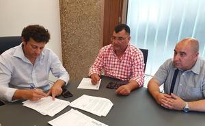 El Ayuntamiento de Villaquilambre y la Junta Vecinal de Villaobispo firman un convenio de colaboración