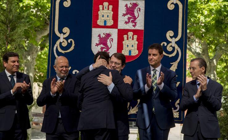 Toma de posesión de los nuevos consejeros en la Junta de Castilla y León (2/2)