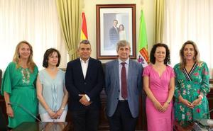 El equipo directivo de la Escuela de Ingenieros de Minas de la ULE toma posesión en un acto presidido por el rector