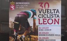 La vuelta ciclista de León en la rampa de salida
