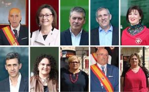 Los diez rostros que gobernarán el Ayuntamiento de León