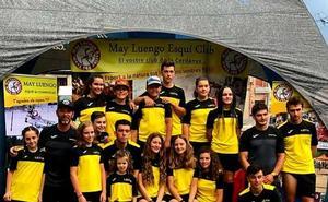 El Club Deportivo Leitariegos se hace con cuatro oros en la Copa de España