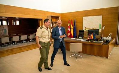 Fuentes inicia con Consejo Consultivo, Ejército y la portavoz de C's en Medina de Campo una ronda de contactos con actores sociales