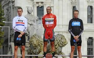 Chris Froome, ganador de la Vuelta 2011 por el positivo de Juanjo Cobo