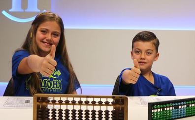 Adriana y Guillermo, matemáticamente dos genios