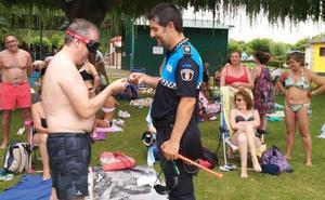 Valencia de Don Juan acogió los talleres de prevención de la Policía Local