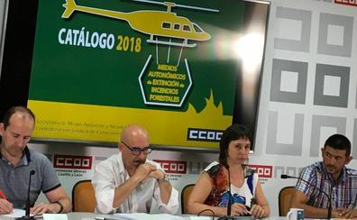 CCOO exige a la Junta la «profesionalización» del sector forestal que esta «completamente obsoleto» en CyL