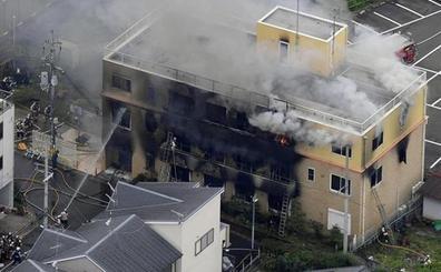 El sospechoso de provocar el incendio en Kyoto lo habría hecho por un presunto plagio