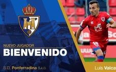 Luis Valcarce, nuevo jugador de la Ponferradina